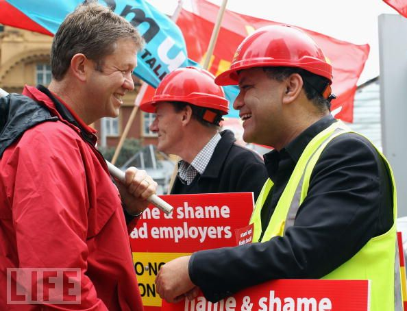 Workers Gather For 'Fairness At Work' Rally-1