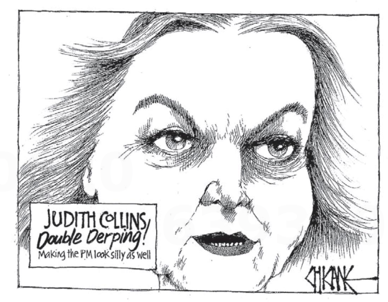 Chicane - Southland Times 13 March 2014 Judith Collins Oravida milk