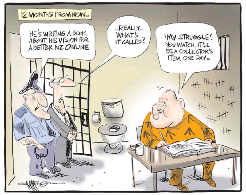 Emmerson - NZ Herald 28 March 2014 Dotcom Internet Party