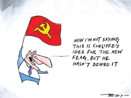 Body - NZ Herald 1 February 2014 flag John Key