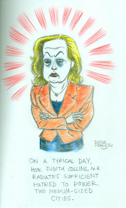 Dylan Horrocks - March 2014 Judith Collins