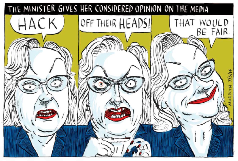 Murdoch - The Press 7 May 2014 Judith Colins National