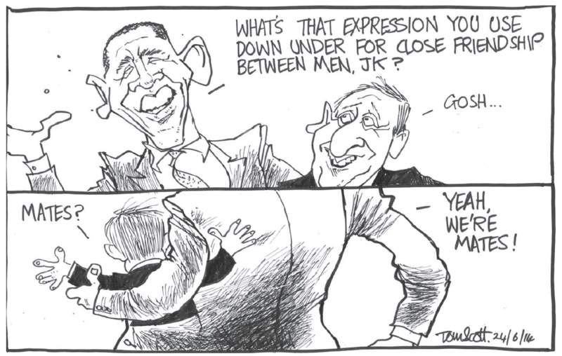 0 Scott - Dominion Post 24 June 2014 John Key National US