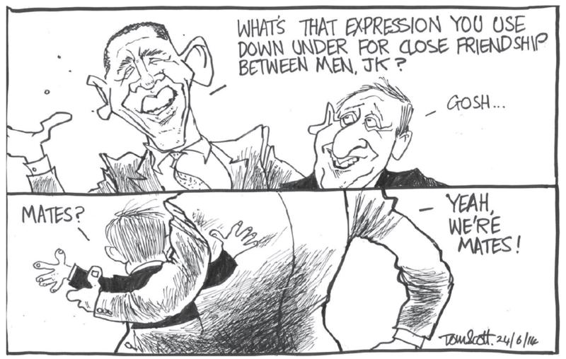 0 Scott - Dominion Post 24 June 2014 John Key National US