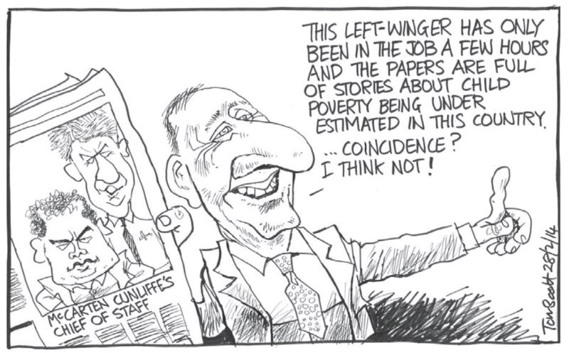 Scott - Dominion Post 28 February 2014 Key Cunliffe Labour McCarten