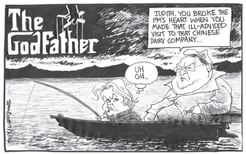 Scott - Dominion Post 7 March 2014 Judith Collins milk