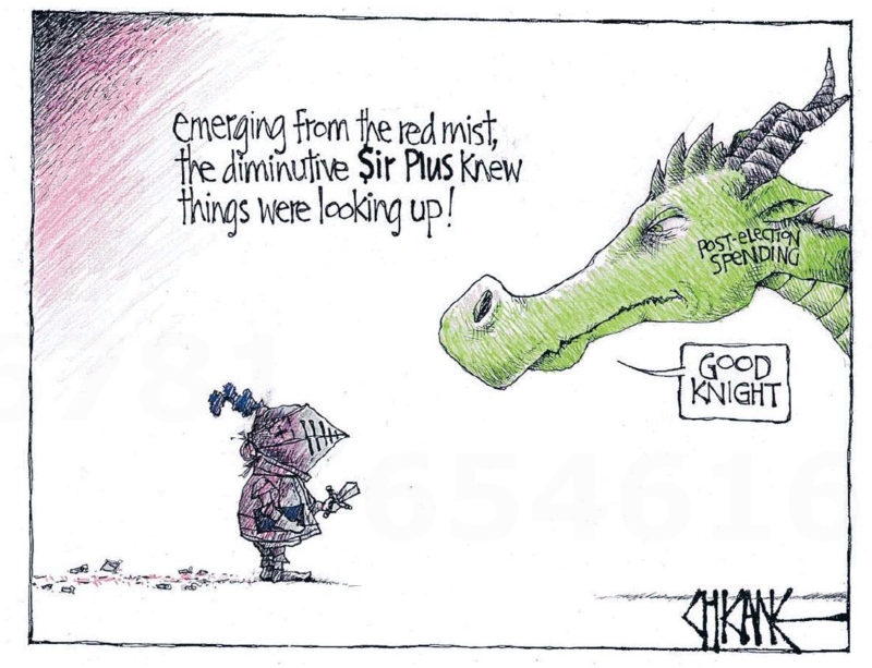 Chicane - Southland Times 16 May 2014 The Budget