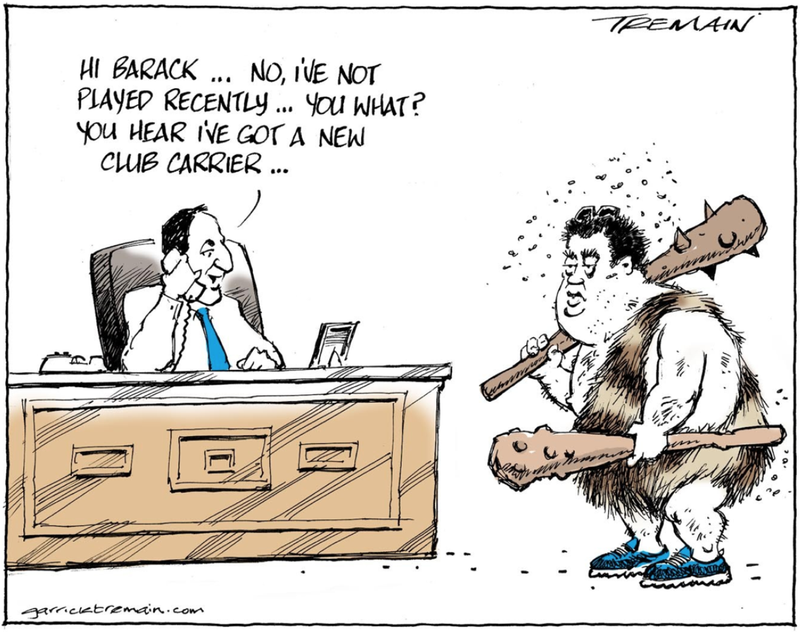 Tremain, ODT Dirty Politics John Key Cameron Slater Clubs. 30 August 2014