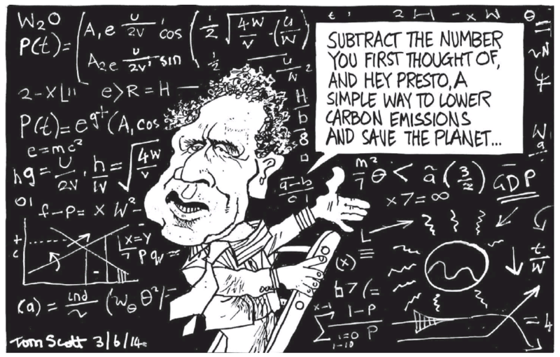 Scott - Dominion Post 3 June 2014 Greens Russel Norman carbon tax