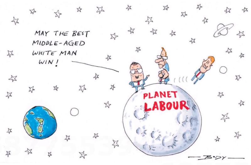 Body - NZ Herald 14 October 2014 Labour leadership
