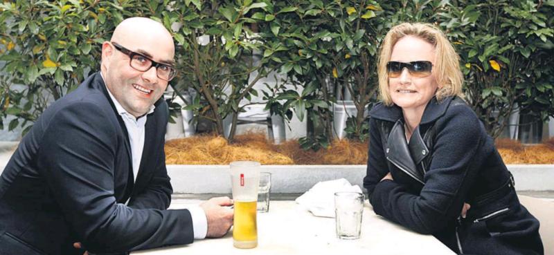 Cathy Odgers & Carrick Graham NZ Herald