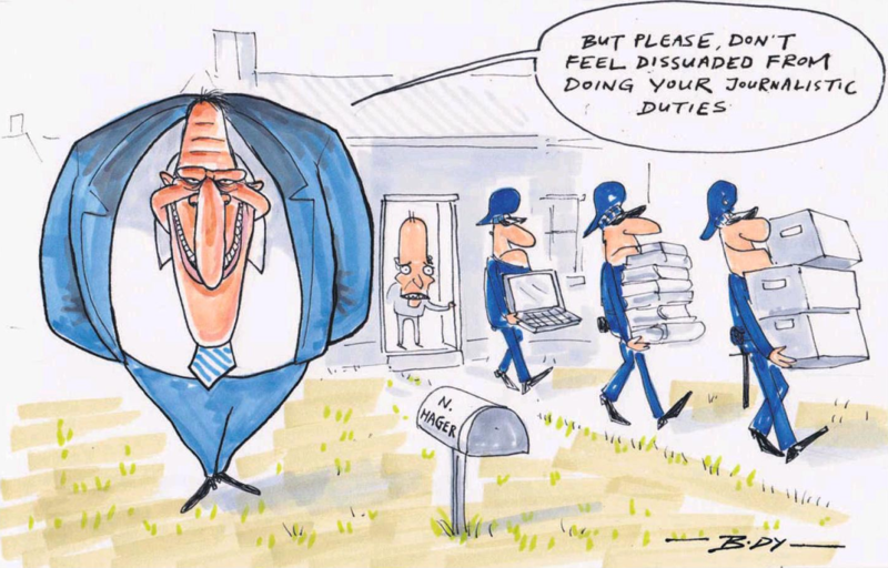 Body - NZ Herald 8 October 2014 Nicky Hager Dirty Politics