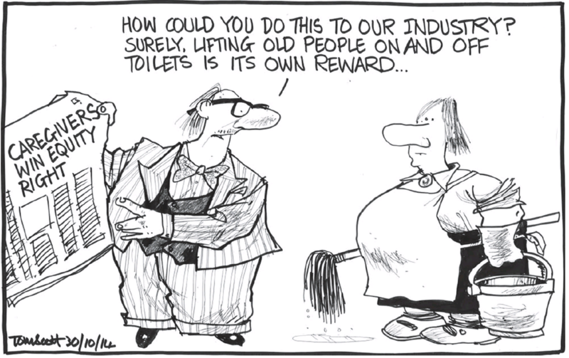 Scott - Dominion Post 30 October 2014 gender pay equity employment inequality