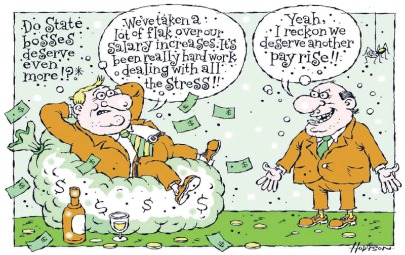 Hodgson - Dominion Post 2 December 2013 pay inequality