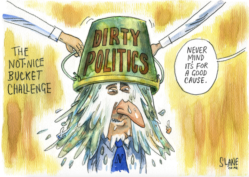 Slane - Listener 28 August 2014  Dirty politics