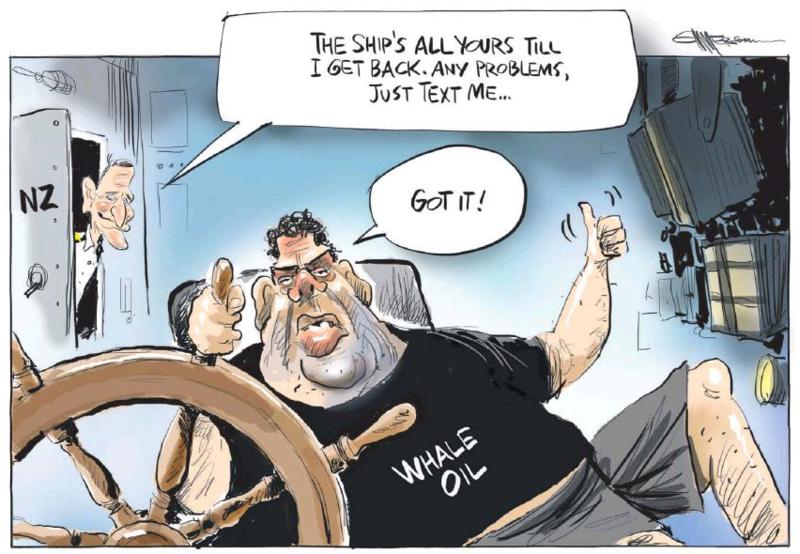 Emmerson - NZ Herald 13 December 2014 Dirty Politics slater key