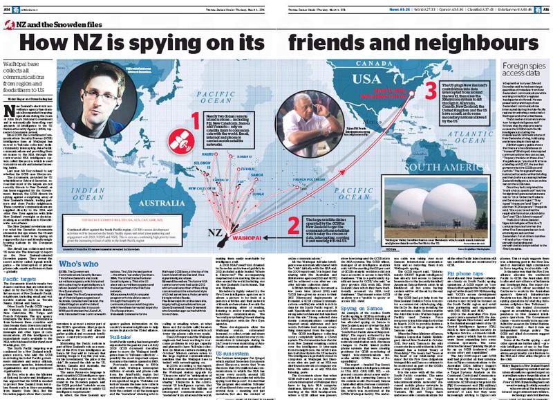 Hager - NZ Herald 5 March 2015 #snowdenNZ