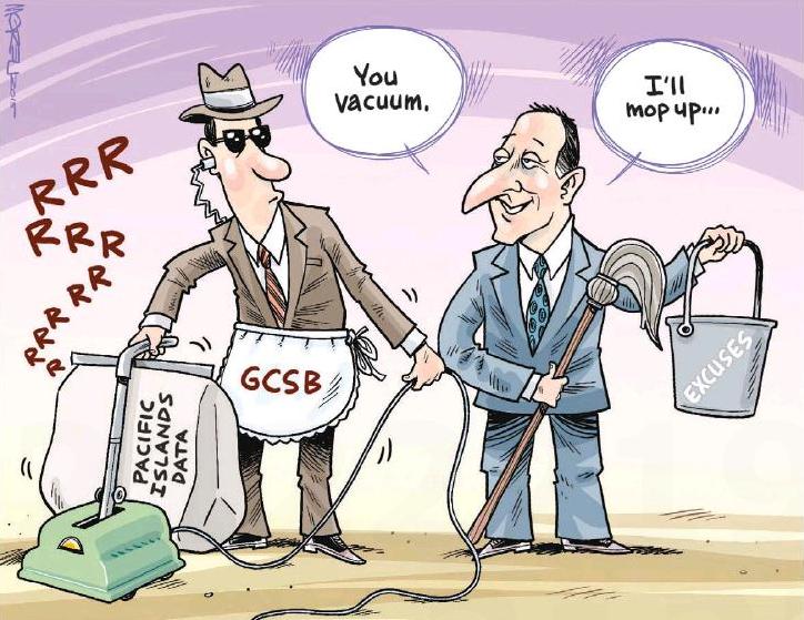 Moreu - Timaru Herald 6 March 2015 Key spying GCSB