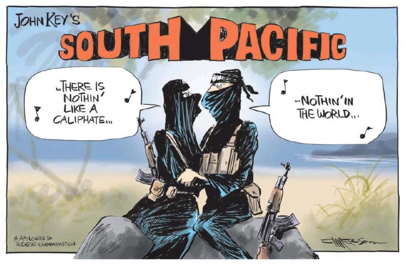 Emmerson - NZ Herald 6 March 2015 Iraq war pacific spy