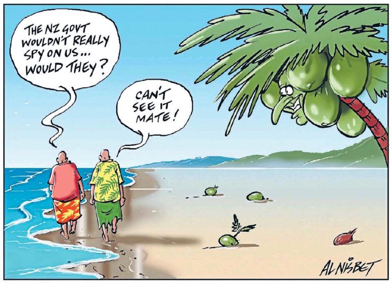 Nisbet - The Press 6 March 2015 spying Key