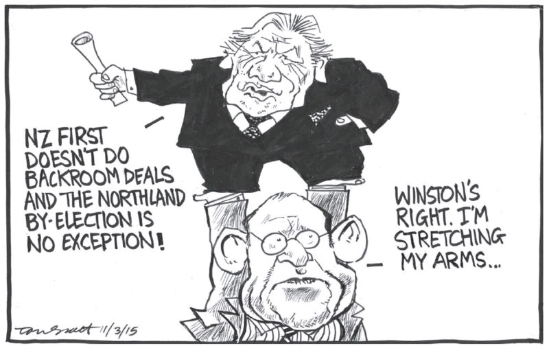 Scott - Dominion Post 11 March 2015 Northland Little Winston Peters