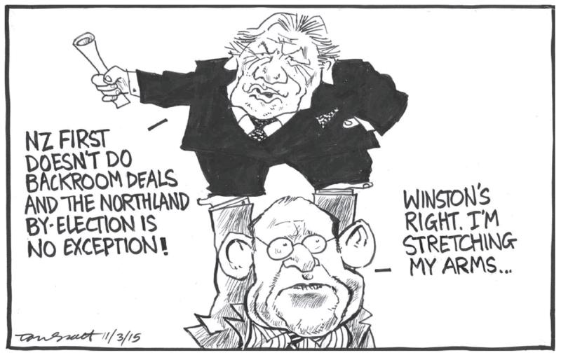 Scott - Dominion Post 11 March 2015 Northland Little Winston Peters