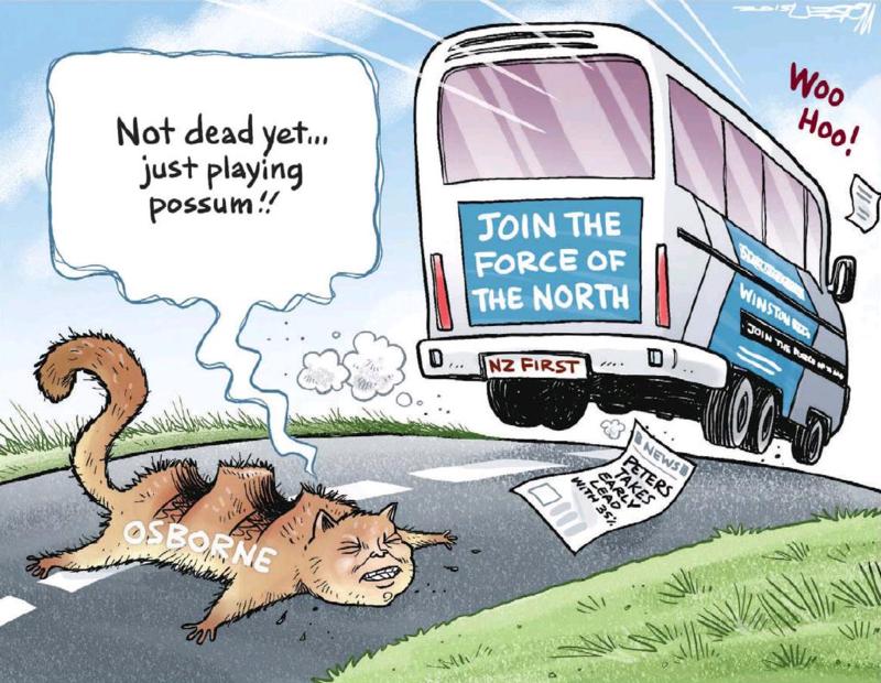 Moreu - Timaru Herald 7 March 2015 Northland Peters