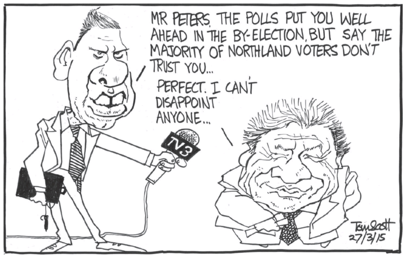 Scott - Dominion Post 27 March 2015 by-election NOrthland gower