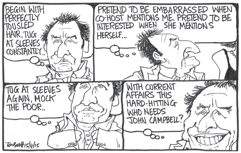 Scott - Dominion Post 15 April 2015 John Campbell media Mike Hosking