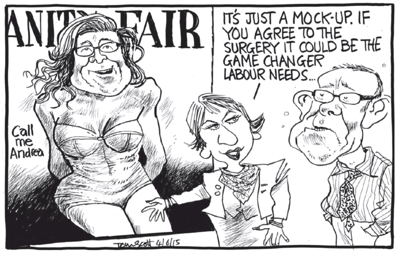 Scott - Dominion Post 4 June 2015 Labour Andrew Little