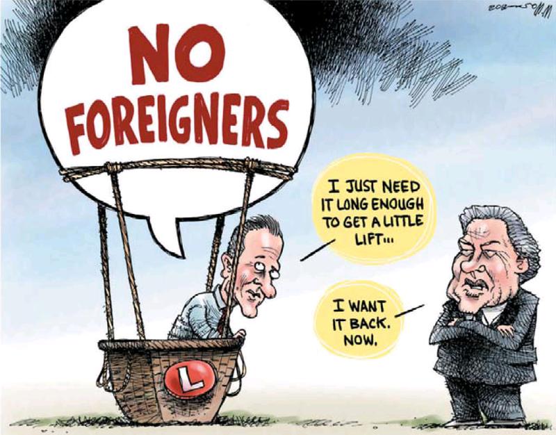 No forieigners