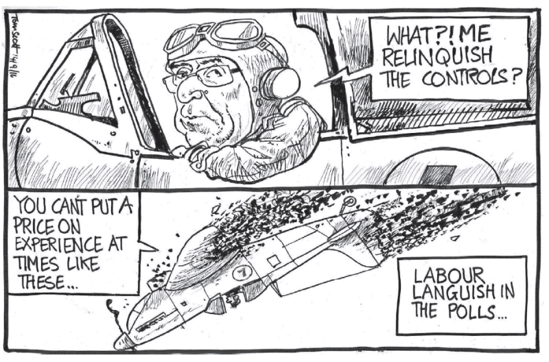 Scott - Dominion Post 14 September 2016 Little labour polls