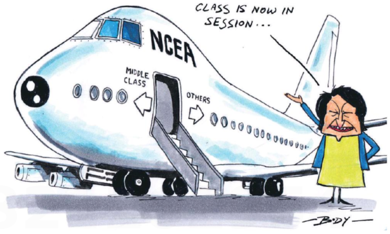 Body - NZ Herald 27 September 2016 class education inequality