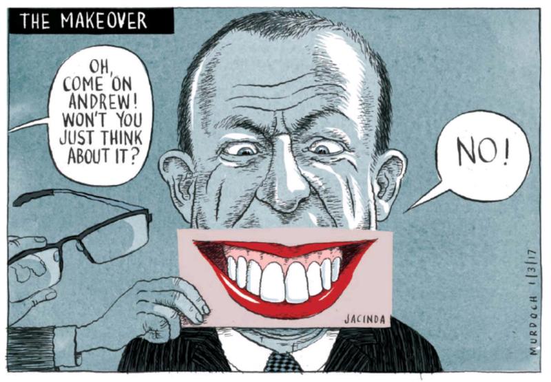 Murdoch - The Press 1 March 2017 Ardern Little Labour