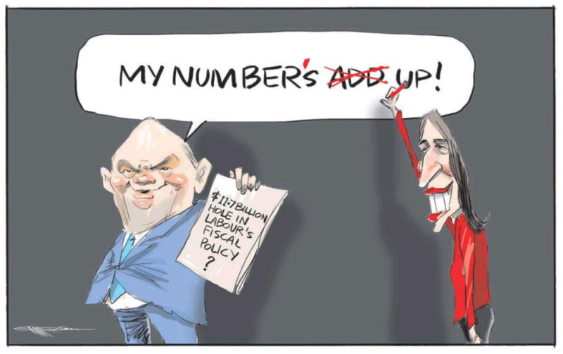 Emmerson - NZ Herald 6 September 2017 Jacinda Ardern economics Joyce Labour National