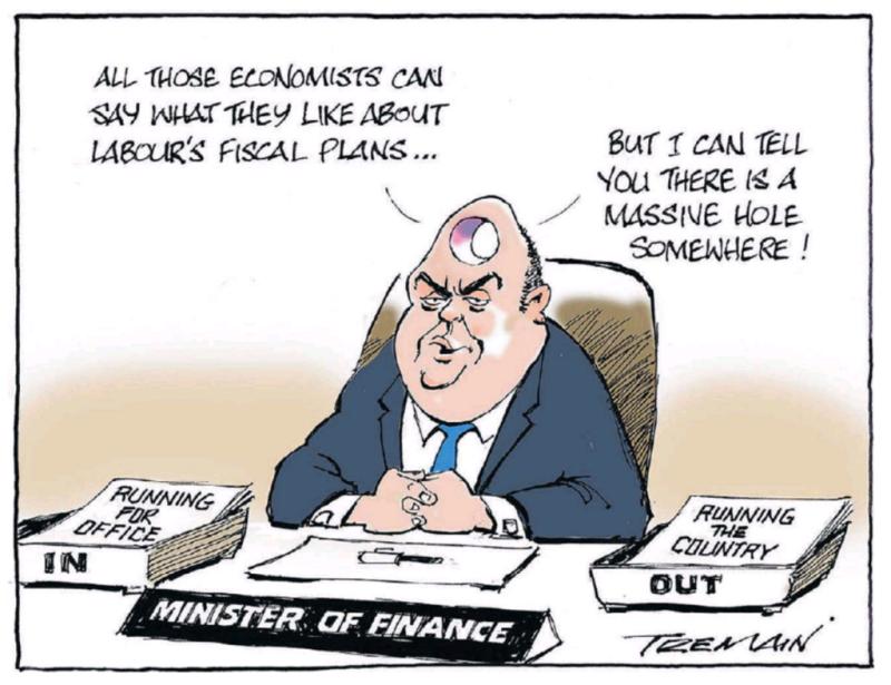 Tremain - ODT 7 September 2017 Joyce fiscal hole National