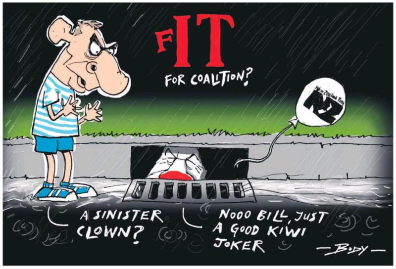 Body - NZ Herald 25 September 2017 NZ First post-election Bill English National