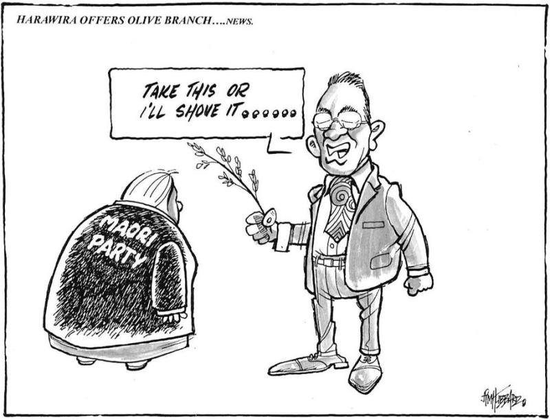 9 - Maori Party Hone Harawira Bryce Edwards Otago liberation blog - www.liberation.org.nz