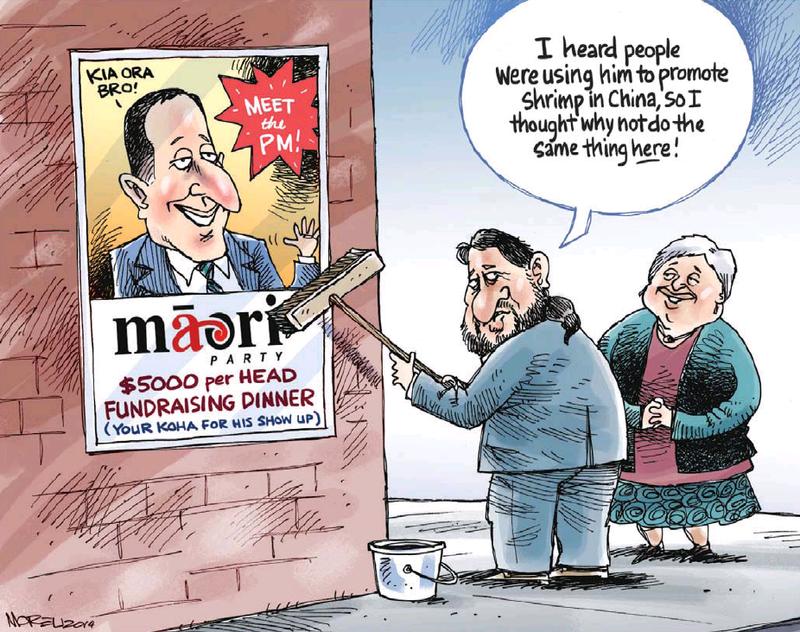 Moreu - Nelson Mail 16 April 2014 Maori Party National John Key Oravida