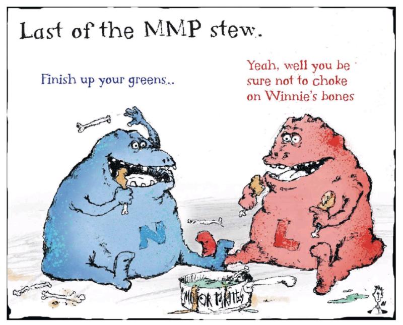 Craig - ODT 30 September 2017 MMP election labour national