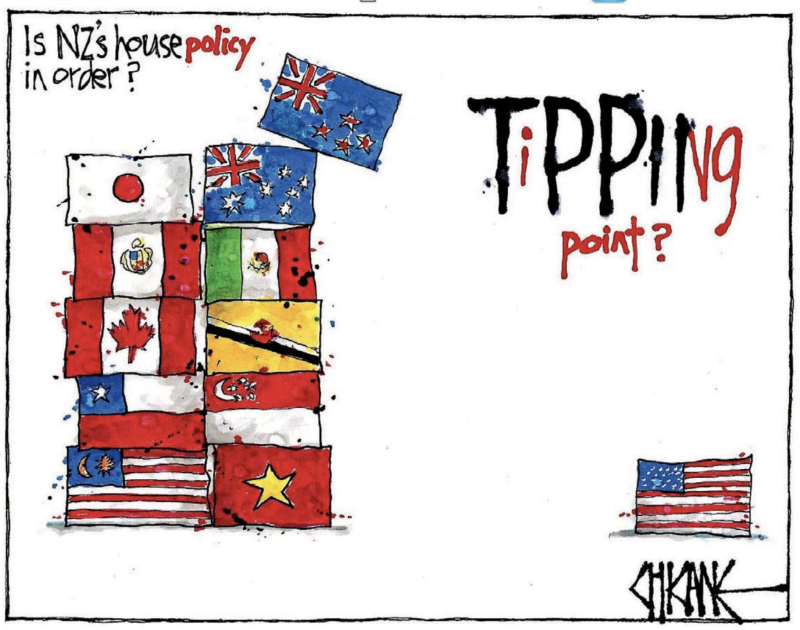 0 - Chicane - Southland Times 2 November 2017 housing TPP foreign ban