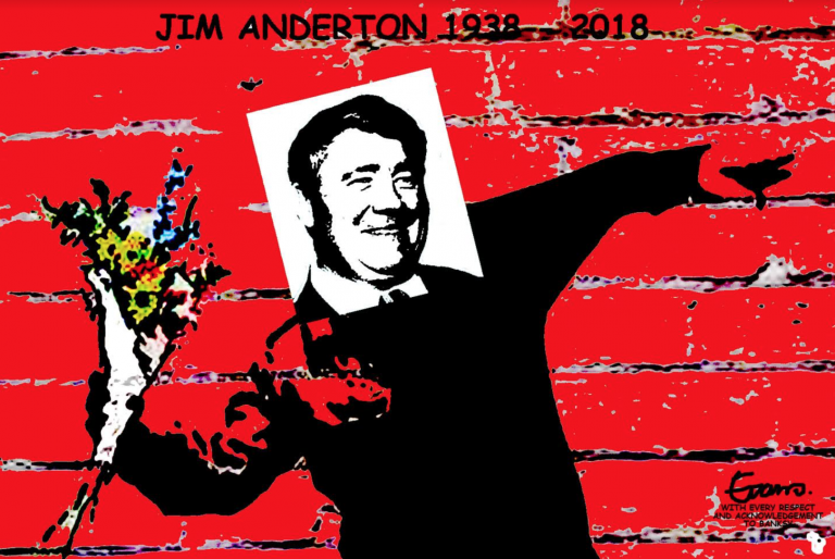 Evans - Daily Blog 8 January 2018 Jim Anderton