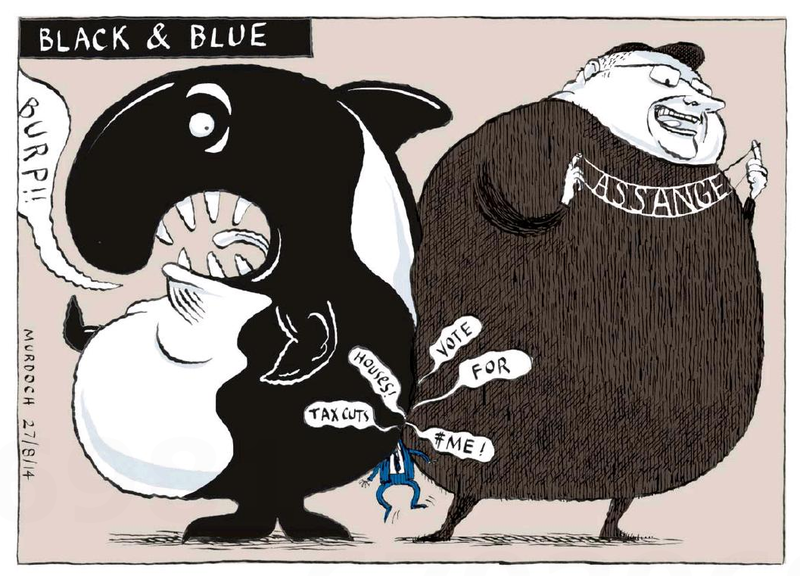 Murdoch - The Press 27 August 2014 Dotcom Whaleoil Dirty Politics election