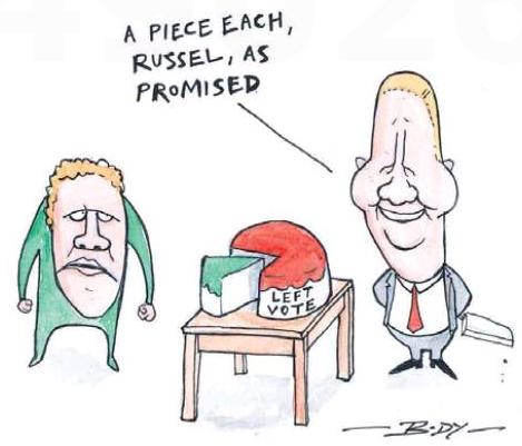 Body - NZ Herald 12 April 2014 Norman Cunliffe Labour Greens