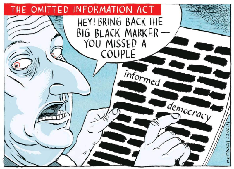 Murdoch - The Press 22 October 2014 OIA John Key National