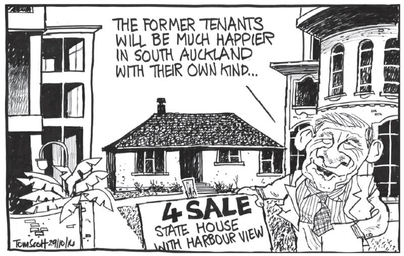 Scott - Dominion Post 29 October 2014 housing Bill English National