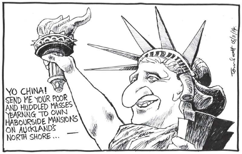 Scott - Dominion Post 5 November 2014 immigration housing