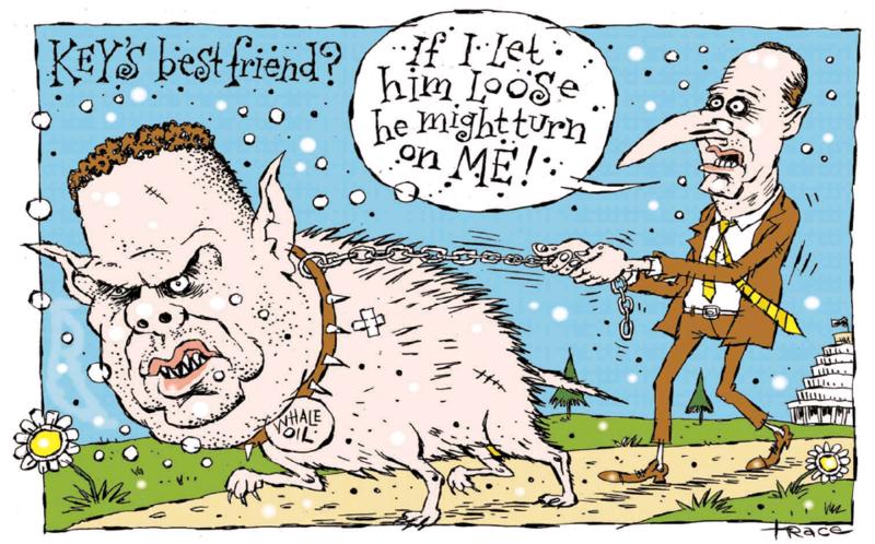 Hodgson - Dominion Post 1 December 2014 Dirty Politics John Key Cameron Slater