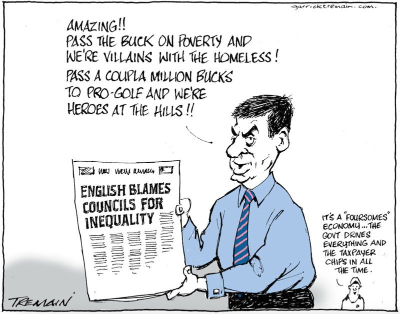 Tremain - ODT 9 October 2014 inequality