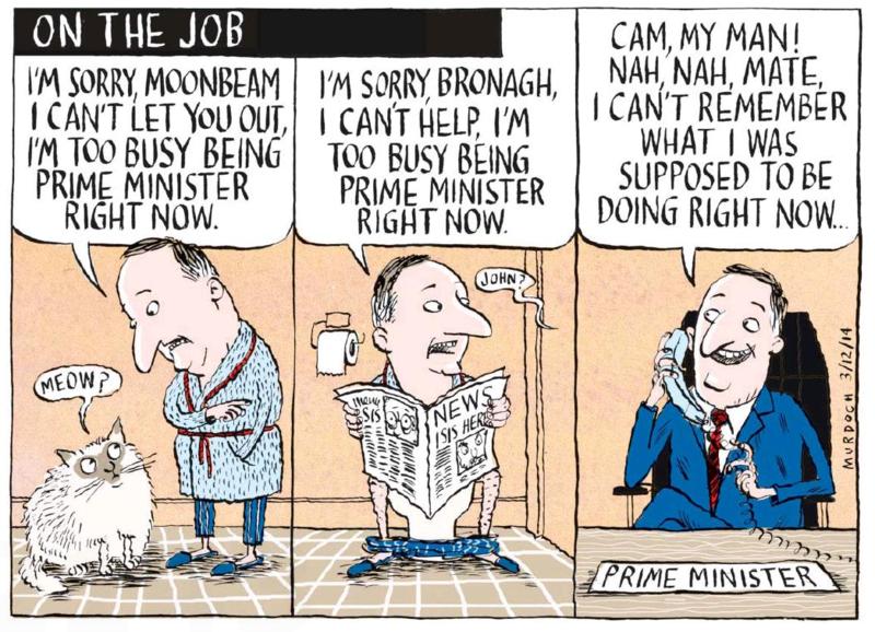 Murdoch - The Press 3 Dec 2014 dirty politics john key